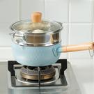 【蒸籠雪平鍋】18公分日式雪平鍋 不沾鍋 雪平不沾鍋 小奶鍋 SIN6872【IH適用】
