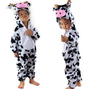 兒童表演  卡通動物套裝  大奶牛