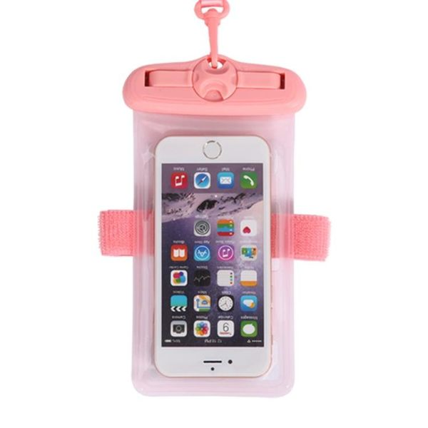 手機防水袋潛水套觸屏游泳溫泉通用水下拍照手機殼蘋果華為防塵包 歐韓流行館