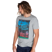 PROTEST 男 短袖T恤 (混灰色) CADWELL T-SHIRT