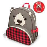 美國SKIP HOP 可愛動物園小童背包(冬日限量版)_叢林小灰熊