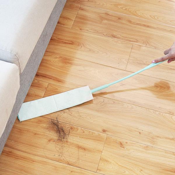 【扁平清潔刷】附9片再加10片清潔布 加長扁平刷頭縫隙刷 除塵刷具 細縫除塵棒