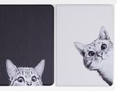 全館83折2018新款保護套ipad mini5保護套卡通pro10.5英寸黑白貓咪硅膠