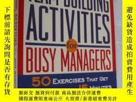 二手書博民逛書店Quick罕見Team-Building Activities
