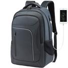 TRIANBER 反光流線商務旅遊電腦後背包