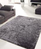 【范登伯格進口地毯 】嘉年華絨毛蓬鬆長毛地毯-灰140x200cm