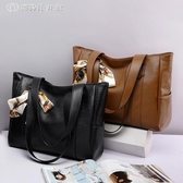 包包女韓版簡約百搭手提包大容量單肩包時尚托特包 【創時代3c館】