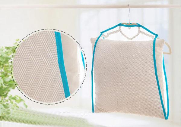 【吉米凱文】晾曬網套 靠墊晾曬袋晾衣架曬衣架 固定曬枕架曬枕頭架子E130