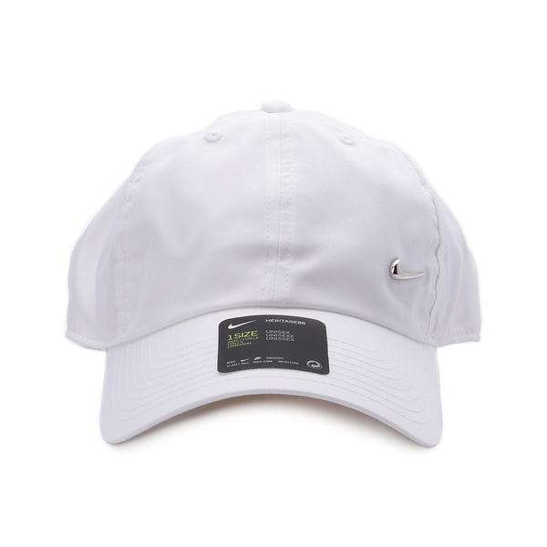 NIKE METAL SWOOSH 基本款棒球帽 白 943092-100