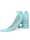 溜滑梯兒童室內家用滑滑梯小型遊樂場幼兒組合加長滑梯小孩樂園玩具【全館免運九折下殺】