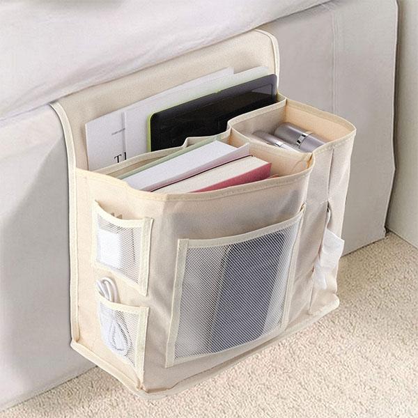 加大床邊收納袋-韓國居家創意床邊收納 客廳沙發茶几收納插物袋 整理袋 【AN SHOP】