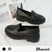 樂福鞋 簡約復古輕量鋸齒鞋 MA女鞋 T1891