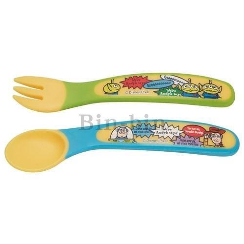 迪士尼 玩具總動員 餐具湯匙&叉/484-672
