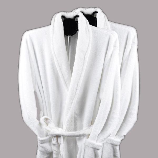 [超豐國際]冬季加厚珊瑚絨睡袍 男女通用 酒店浴袍浴服浴衣睡