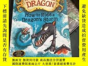 二手書博民逛書店How罕見To Train Your Dragon: How to Ride a Dragon s Storm