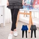 輕閒甜美 日系蛋糕層次顯瘦褲裙(XS-5...