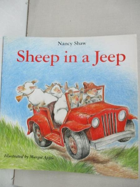 【書寶二手書T1/原文小說_BKQ】Sheep in a Jeep_Shaw, Nancy E./ Apple, Margot (ILT)