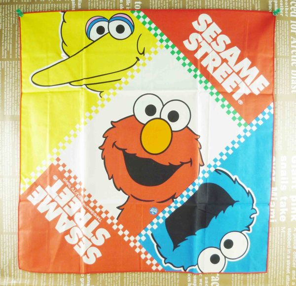 【震撼精品百貨】Sesame Street_芝麻街~大方巾-綜合人物