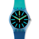 Swatch  玩味都市藝術石英腕錶   SUOS105