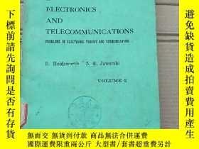 二手書博民逛書店worked罕見examples in electronics and telecommunications(P1