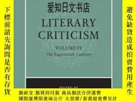 二手書博民逛書店【罕見】The Cambridge History Of Literary Criticism Vol. 4: T