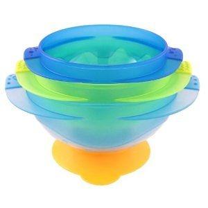 【TwinS伯澄】SASSY - 3合一吸盤碗(可微波)【顏色隨機出貨】