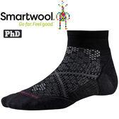 Smartwool Run SW211-001黑 女 PhD輕量減震型跑步短襪 美麗諾羊毛襪/機能排汗襪
