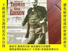 二手書博民逛書店The罕見story of Thomas Alva EdisonY429456 Margaret cousin