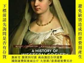 二手書博民逛書店A罕見History Of Western Society-西方社會史Y436638 John P. Mcka