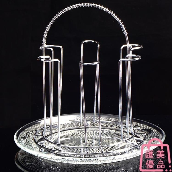 杯架茶杯架酒杯架玻璃杯架水杯架廚房簡約歐式擺件【匯美優品】