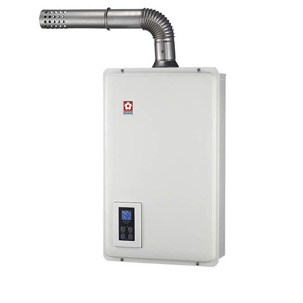 【櫻花牌】16L浴SPA 數位恆溫強制排氣熱水器DH-1670A