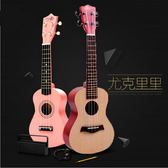 尤克里里小吉他 初學者21寸23寸 烏克麗麗 速成教導