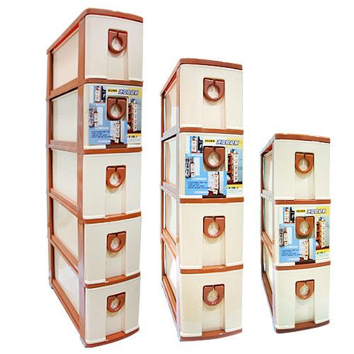 五層連環縫隙櫃 整理櫃 KEYWAY 置物櫃 五層櫃 隙縫櫃 櫃子 收納櫃 SK205 [百貨通]