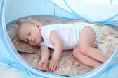 嬰兒蚊帳罩寶寶蒙古包免安裝可折疊支架有底嬰童床蚊帳罩0-3歲·享家生活館YTL