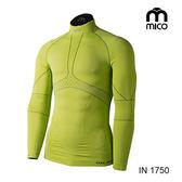 MICO 男OXI-JET高領肌肉壓縮衣1750/城市綠洲專賣(三鐵衣.瘋三鐵.運動衣.鐵人三項)
