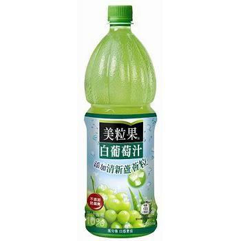 ●美粒果白葡萄汁 1250ml-1瓶【合迷雅好物超級商城】