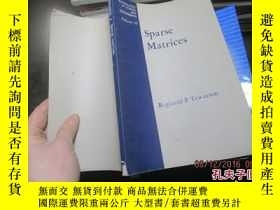 二手書博民逛書店sparse罕見matrices 211719636 tewar