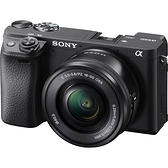 【震博】Sony A6400L PZ16-50mm變焦鏡組 (台灣索尼公司貨)送 相機提籠[限一組]