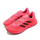 adidas 慢跑鞋 Supernova W 紅 黑 女鞋 Boost Bounce 混合中底 運動鞋【ACS】 FW0704