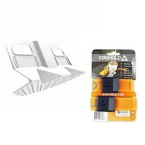 Stayhold 後車箱收納系列地毯專用隔板- 防水墊時尚白 + 強力效能束帶