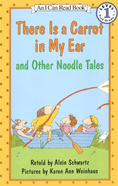 (二手書)An I Can Read Book Level 1: There Is a Carrot in My Ear and Othe..