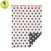 德國Lassig-有機棉嬰兒毯-粉紅星