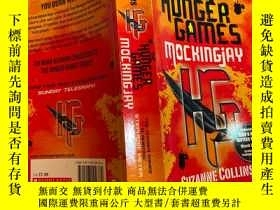 二手書博民逛書店the罕見hunger games. 饑餓遊戲Y200392