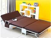 華馬折疊床單人午睡床辦公室午休床三折木板海綿成人家用陪護小床『向日葵生活館』