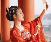 古裝齊胸襦裙飄逸改良漢服女【不二雜貨】