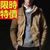 軍裝外套-秋季潮流薄短款男外套62o47【巴黎精品】