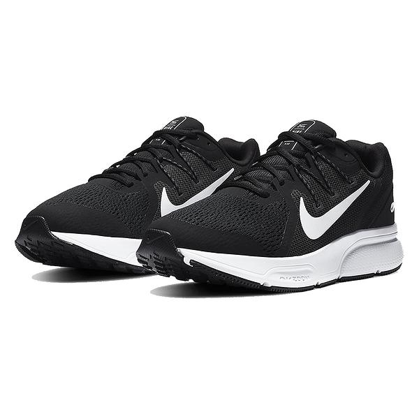 NIKE Zoom Span 3 男款 慢跑鞋 運動 氣墊 舒適 避震 路跑 健身 球鞋 黑白 CQ9269001
