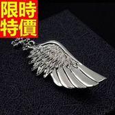 胸針 男配件-奢華大方高檔天使之翼首飾胸章65q10[巴黎精品]