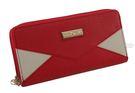 Roberto Mocali 諾貝兔 紅色系列 雙層拉鍊長夾 RM-66206