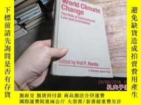 二手書博民逛書店world罕見climate change the role o